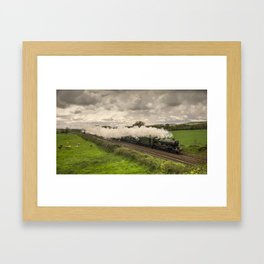 Silverton Steam  Framed Art Print