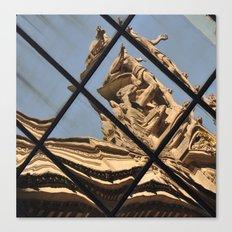 Grand Central Station Facade Reflection Canvas Print