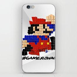 Pixel Mario iPhone Skin