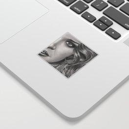 Half Portrait Sticker
