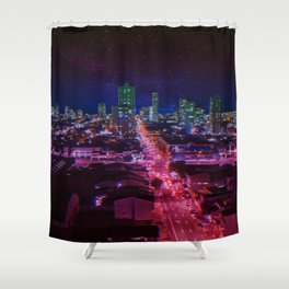 Punk City Shower Curtain