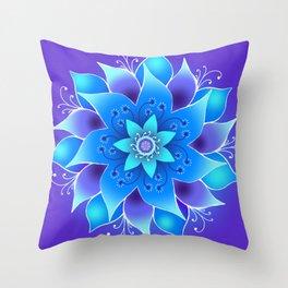 Starlight Bloom Throw Pillow