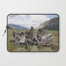 Wilderness Wood Sculpture Laptop Sleeve