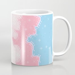 Trans Pride Flag Galaxy Coffee Mug