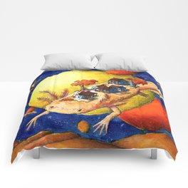 Axolotl Village Comforters