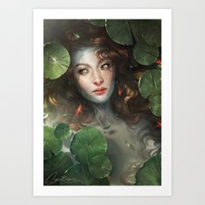Shallows Art Print