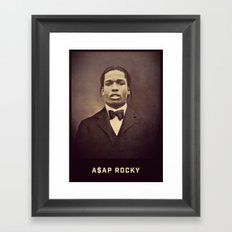 A$AP Rocky Framed Art Print