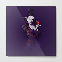 The Evil Queen V2 Metal Print