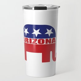 Arizona Republican Elephant Travel Mug