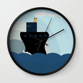 Ocean Liner Wall Clock