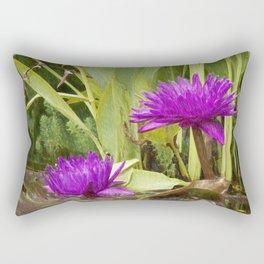 The lotus Rectangular Pillow