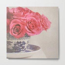 Rose Tea. Metal Print
