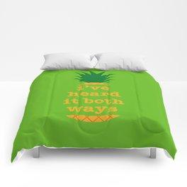 I've Heard It Both Ways Comforters