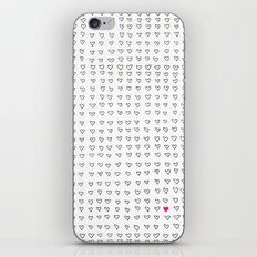 Hearts iPhone & iPod Skin