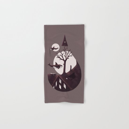 Darkly Dreaming Hand & Bath Towel