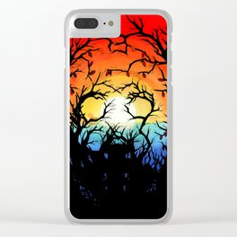 Camp Crystal Lake Clear iPhone Case
