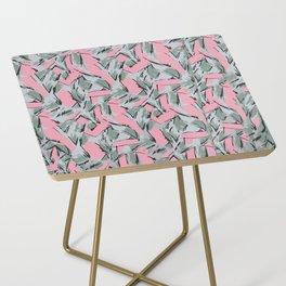 Hopper Pattern Side Table
