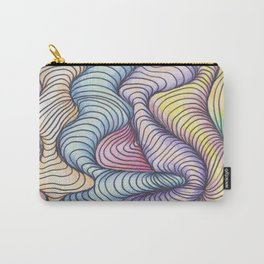Wave Form Carry-All Pouch
