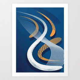 Koi 8 Art Print