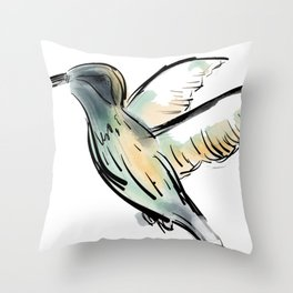 Humm Throw Pillow