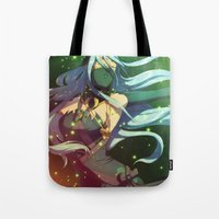 fire emblem awakening Tote Bags featuring Fire Emblem IF Dancer by TiuanaRui