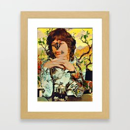 Sick Jag and Comely Modag Framed Art Print