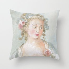 Claudette Throw Pillow