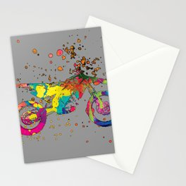 ap127-5 Motorcycle Stationery Cards
