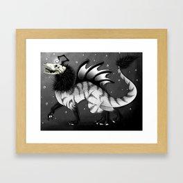 Fallen-Zioron Framed Art Print