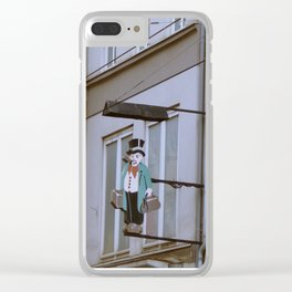 honey, i'm home! Clear iPhone Case