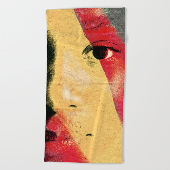 Magic People 1 Beach Towel