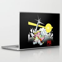 onward Laptop & iPad Skins featuring PG Winter by Pink Gorilla