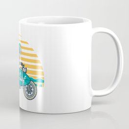 Ride and Surf Coffee Mug