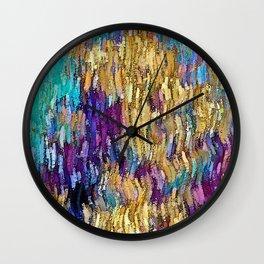 Coral Salad Wall Clock