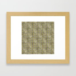 Gold Sheen Framed Art Print