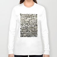hogwarts Long Sleeve T-shirts featuring HOGWARTS QUOTES by September 9