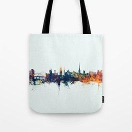 Newcastle England Skyline Tote Bag