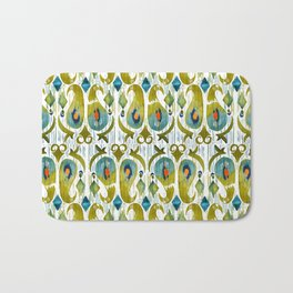 indian cucumbers balinese ikat print mini Bath Mat