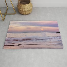 Reaching for the moon Rug