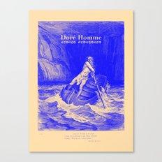 Doré Homme - Canto III Canvas Print