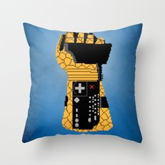 Power Glove Love: The Thing Throw Pillow