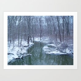 After the Blizzard Art Print