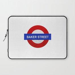 Sherlock Baker Street Print Laptop Sleeve