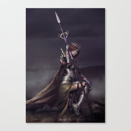 Queen of thorns Canvas Print