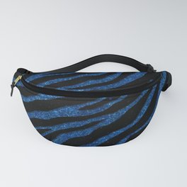 Ripped SpaceTime Stripes - Glitter Blue Fanny Pack