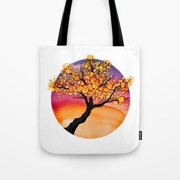 Autumn Ink Tree Tote Bag