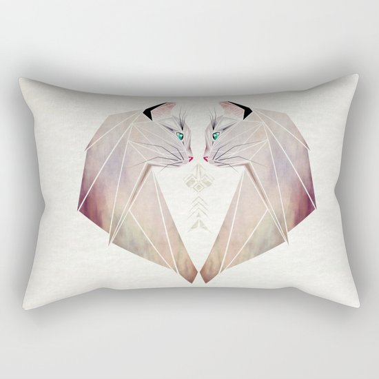 cat lovers Rectangular Pillow