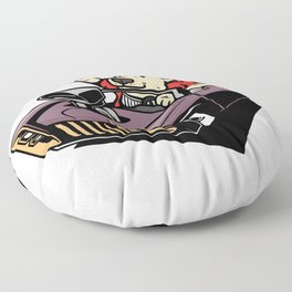 New Year's Eve New Year's Eve 2019 Fireworks Floor Pillow