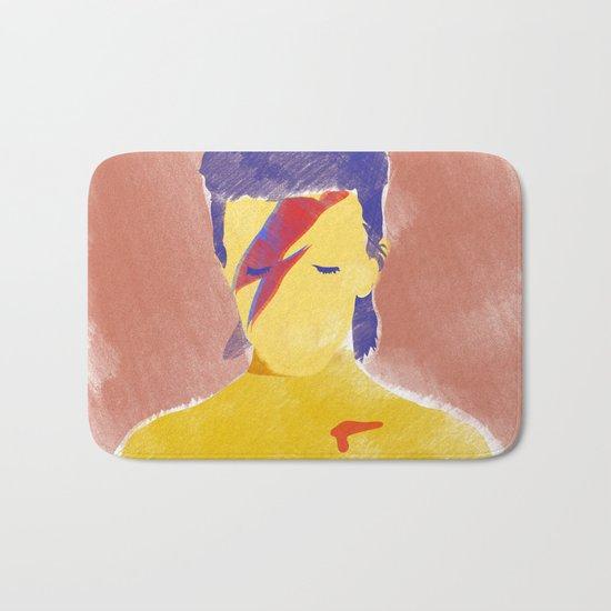 David Bowie III Bath Mat