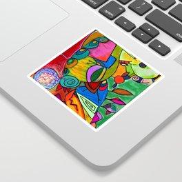 La Gallerina Sticker